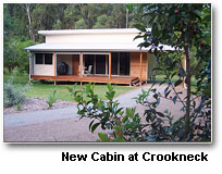 Cabin Accommodation At Crookneck Retreat